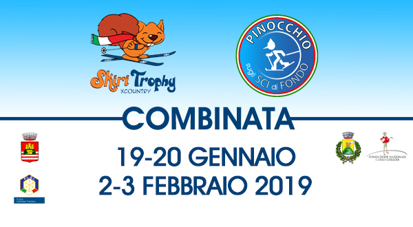 Seconda combinata Skiri Trophy XCountry e Pinocchio sugli Sci di Fondo